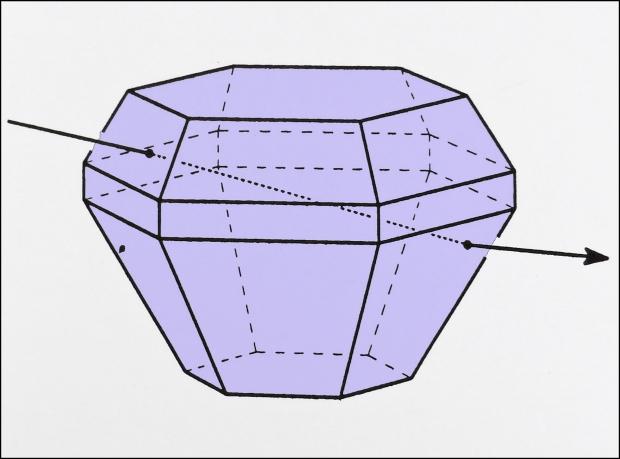Piramidevormig ijskristal
