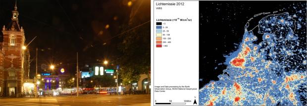 Lichtvervuiling in Nederland