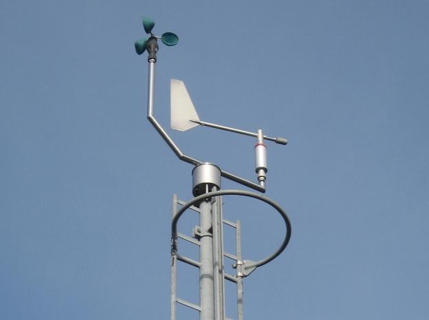 Cupanemometer KNMI te Nieuw-Beerta
