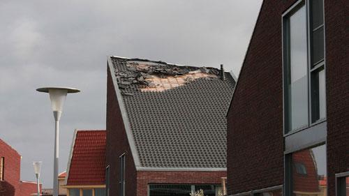 Stormschade Zwolle
