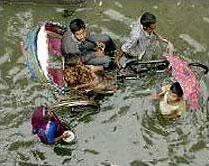 Wateroverlast Vietnam