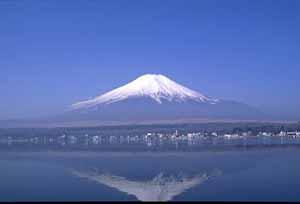 Fuji, hoogte 3776 meter en vrijwel symetrisch