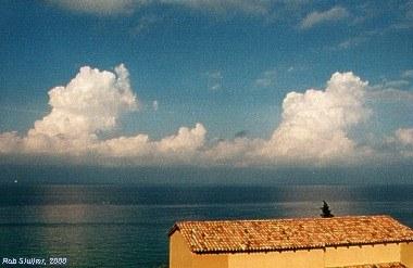 corfu, uitzicht op zee (mei 2000), sluijter